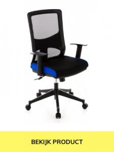 bureaustoel donkerblauw